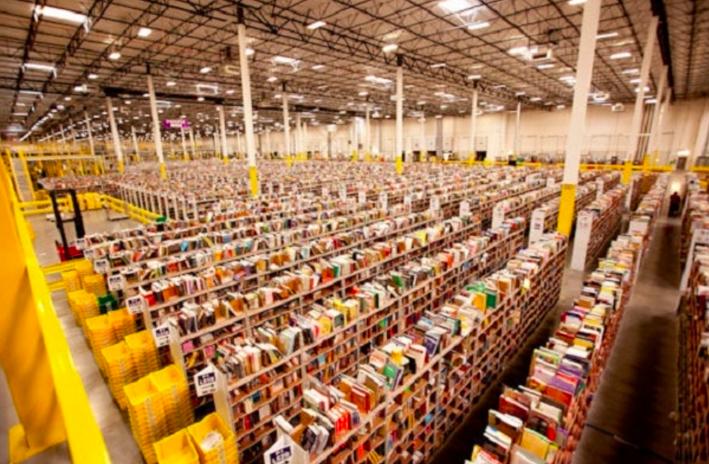 AmazonのFBA倉庫