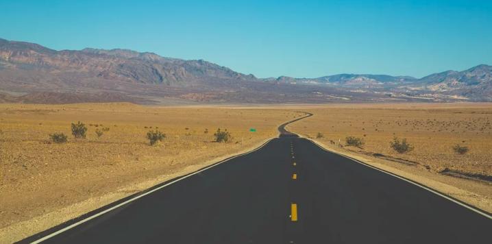 アメリカの不毛な砂漠